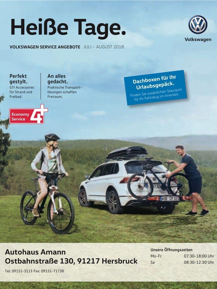 VW Prospekt Juli – August 2018