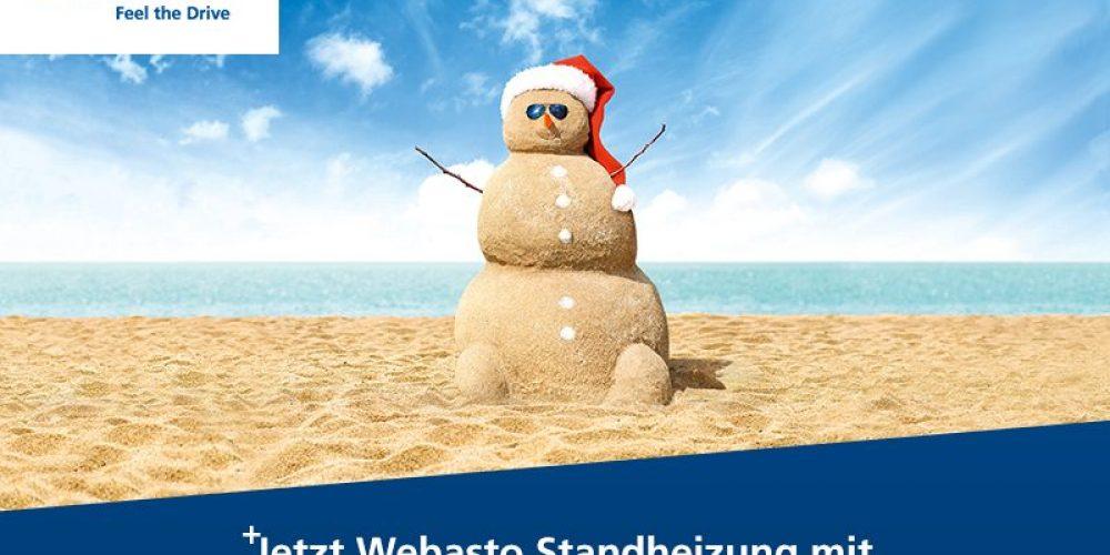 Webasto Standheizung jetzt mit bis zu 150,- €* Preisvorteil