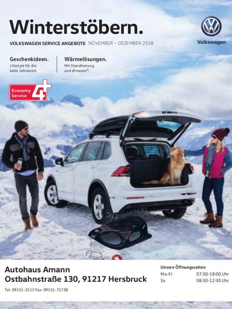 VW-Prospekt November – Dezember 2018