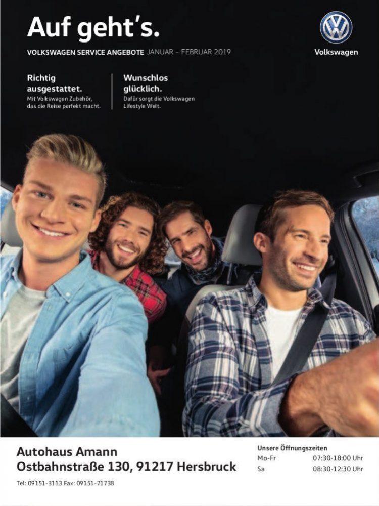 VW-Prospekt Januar – Februar 2019