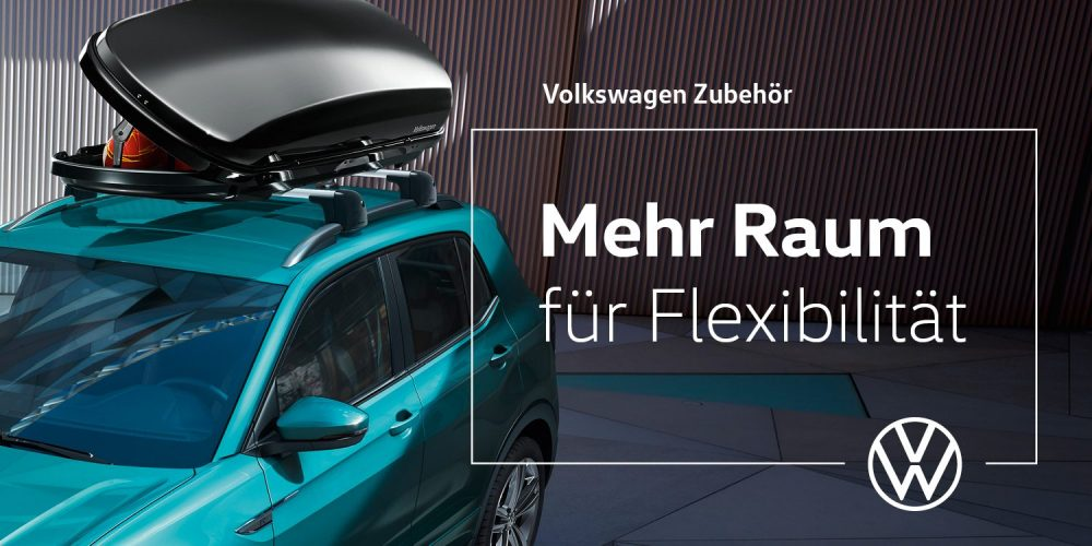 Volkswagen Dachbox <br/>Rabatt-Aktion